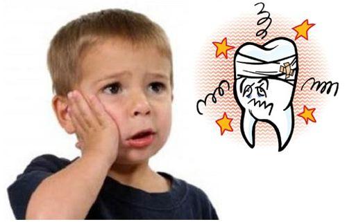 Liệu pháp chữa đau răng cho trẻ tại nha khoa paris