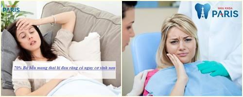 bà bầu bị đau răng phải làm sao điều trị 1