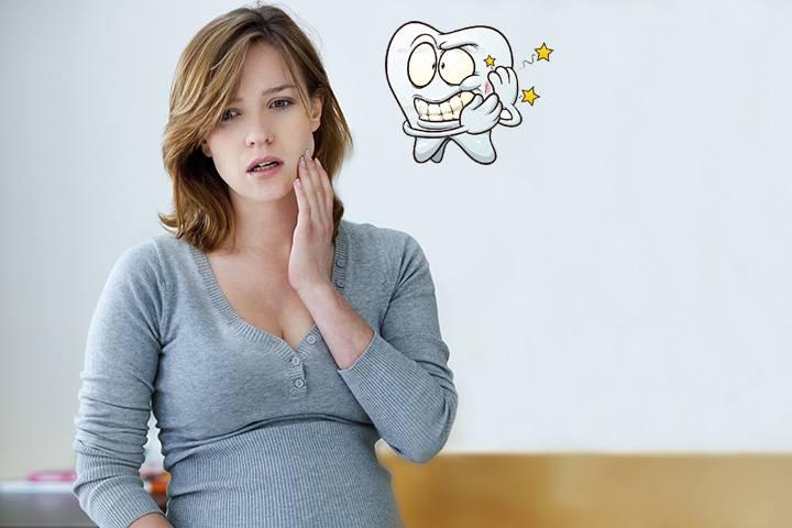 Viêm chân răng khi mang thai 1