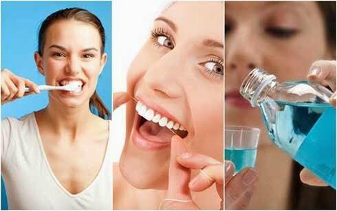 cách chữa hôi miệng và chảy máu chân răng 2