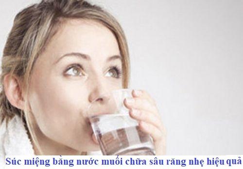 Bật mí chữa sâu răng nhẹ tại nhà với 6 loại nước dễ làm 1