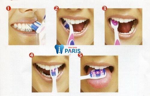 đánh răng đúng cách như thế nào? 2
