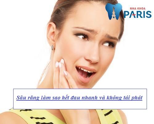 Sâu răng làm sao hết đau nhanh và không tái phát? [BS Tư Vấn] 1