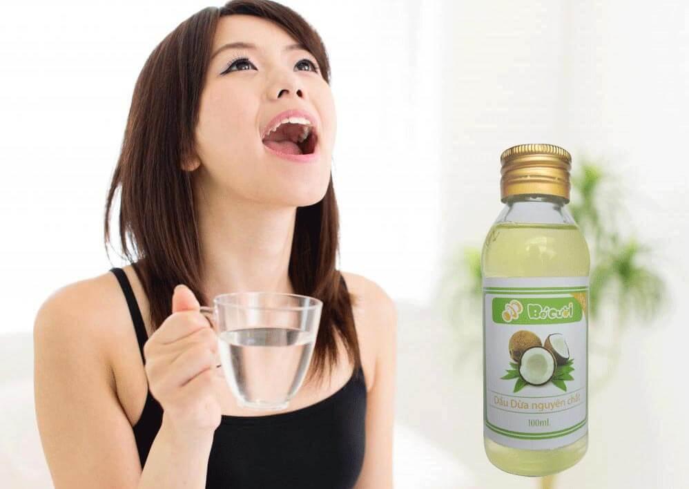 Cách chữa hôi miệng bằng dầu dừa lấy lại hơi thở thơm mát 1