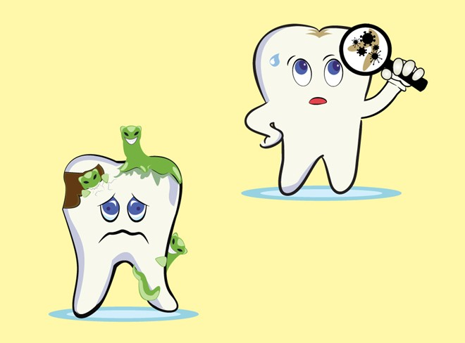 Con sâu răng có thật không? Lời giải đáp chính xác từ chuyên gia 2