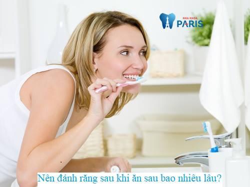 Có nên đánh răng sau khi ăn không? 2