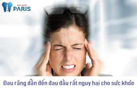 Đau răng buốt lên đầu là dấu hiệu nguy hiểm cho sức khỏe