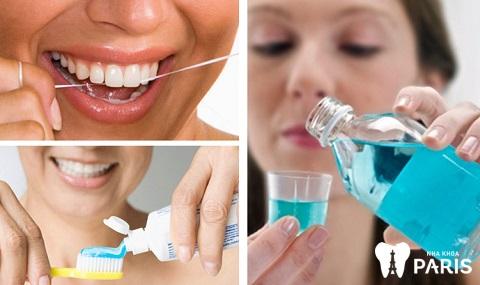 Chế độ vệ sinh răng miệng phòng tránh đau răng buốt lên đầu hiệu quả
