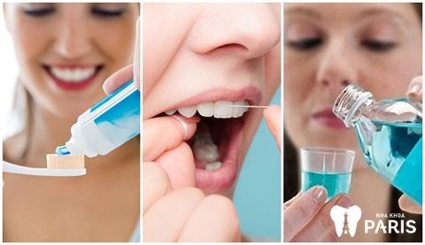 Chế độ vệ sinh hợp lý là cách tốt nhất để phòng tránh đau răng triệt để