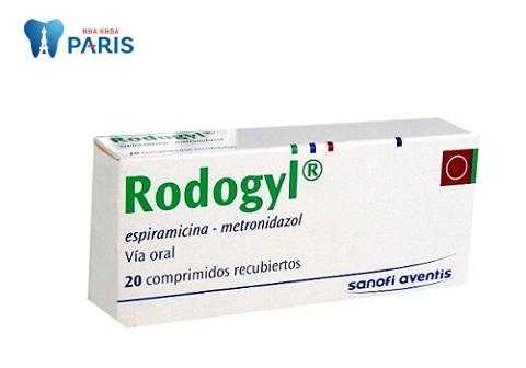 Thuốc đau răng rodogyl là loại kháng sinh khá phổ biến hiện nay