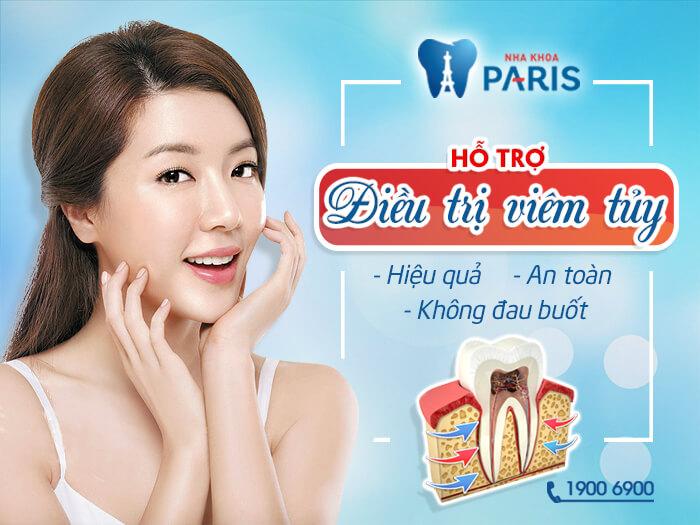Công nghệ điều trị tủy răng an toàn, không đau buốt tại nha khoa Paris